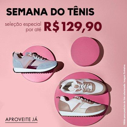Semana do Tênis por até R$ 129,90