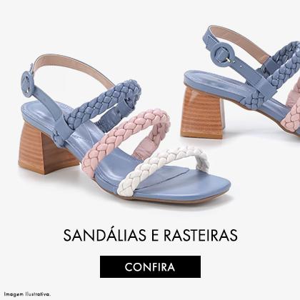 Sandálias e Rasteiras