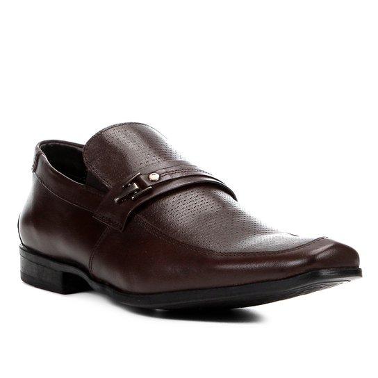 6fd5db353 Sapato Social Couro Shoestock Textura Fivela Masculino | Shoestock