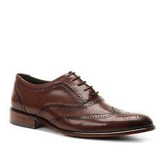 fd0da0dfda309 Sapato Social Couro Shoestock Brogues Romana Masculino