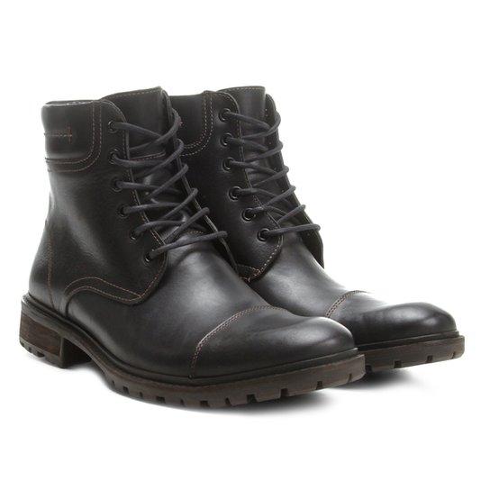 995413f5af Bota Coturno Shoestock Tratorada Masculina - Preto - Compre Agora ...