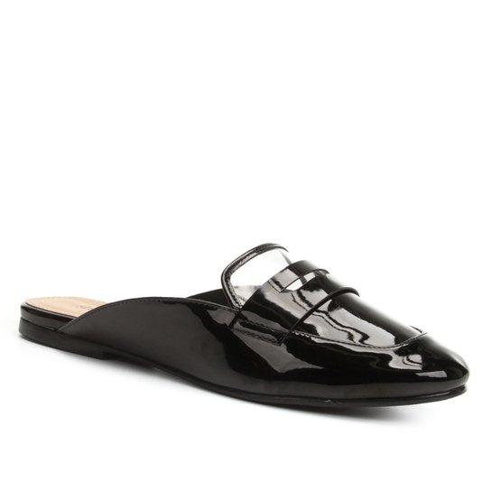 6dc94a5eca Mule Shoestock Vinil - Preto