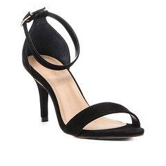 9462c5f5ba Sandália Couro Shoestock Salto Fino Naked Básica Feminina