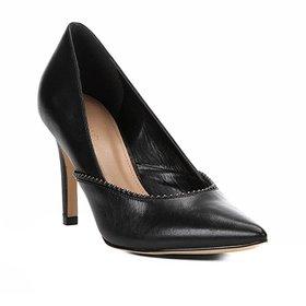 a60e2494e9 Scarpin Couro Shoestock Salto Alto Glam
