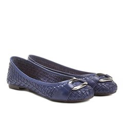 3eadb2d53 Sapatilha Couro Shoestock Tressê Feminina