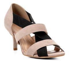c9a893981 Sandália Shoestock Salto Fino Elástico Feminina