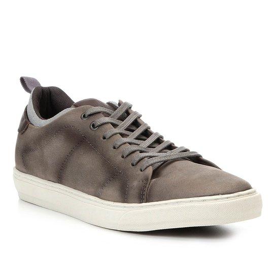 61ccd1a821 Sapatênis Shoestock Stoned Selaria Lona Masculino - Cinza