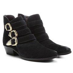 8e6615bfa Botas Feminino Shoestock Marinho - Calçados