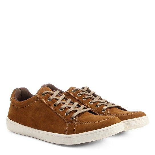 801229cfe8 Sapatênis Couro Shoestock Nobuck Masculino - Compre Agora