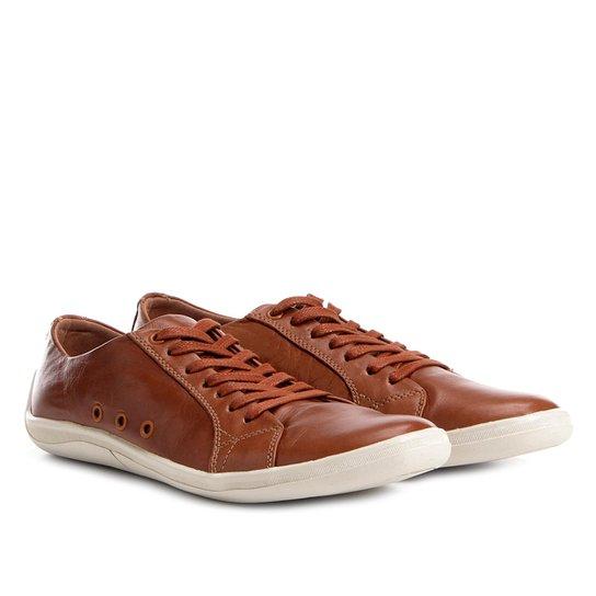 334df830e5 Sapatênis Shoestock Couro II Masculino - Caramelo - Compre Agora ...