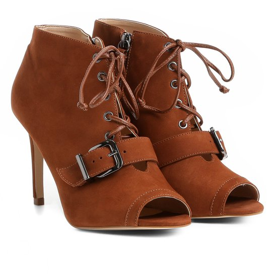 9672b38be Sandália Couro Shoestock Fivela Feminina - Caramelo | Shoestock