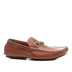 d49aded845 Mocassim Couro Shoestock Bridão Masculino