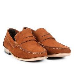 cdd92ba45 Mocassim Couro Shoestock Nobuck Gravata Masculino