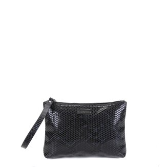 Bolsa Clutch Shoestock Croco Feminina