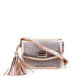 Bolsa Couro Shoestock Crossbody Mini Feminina