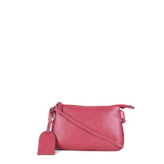 Bolsa Couro Shoestock Crossbody Travel Feminina - Vinho