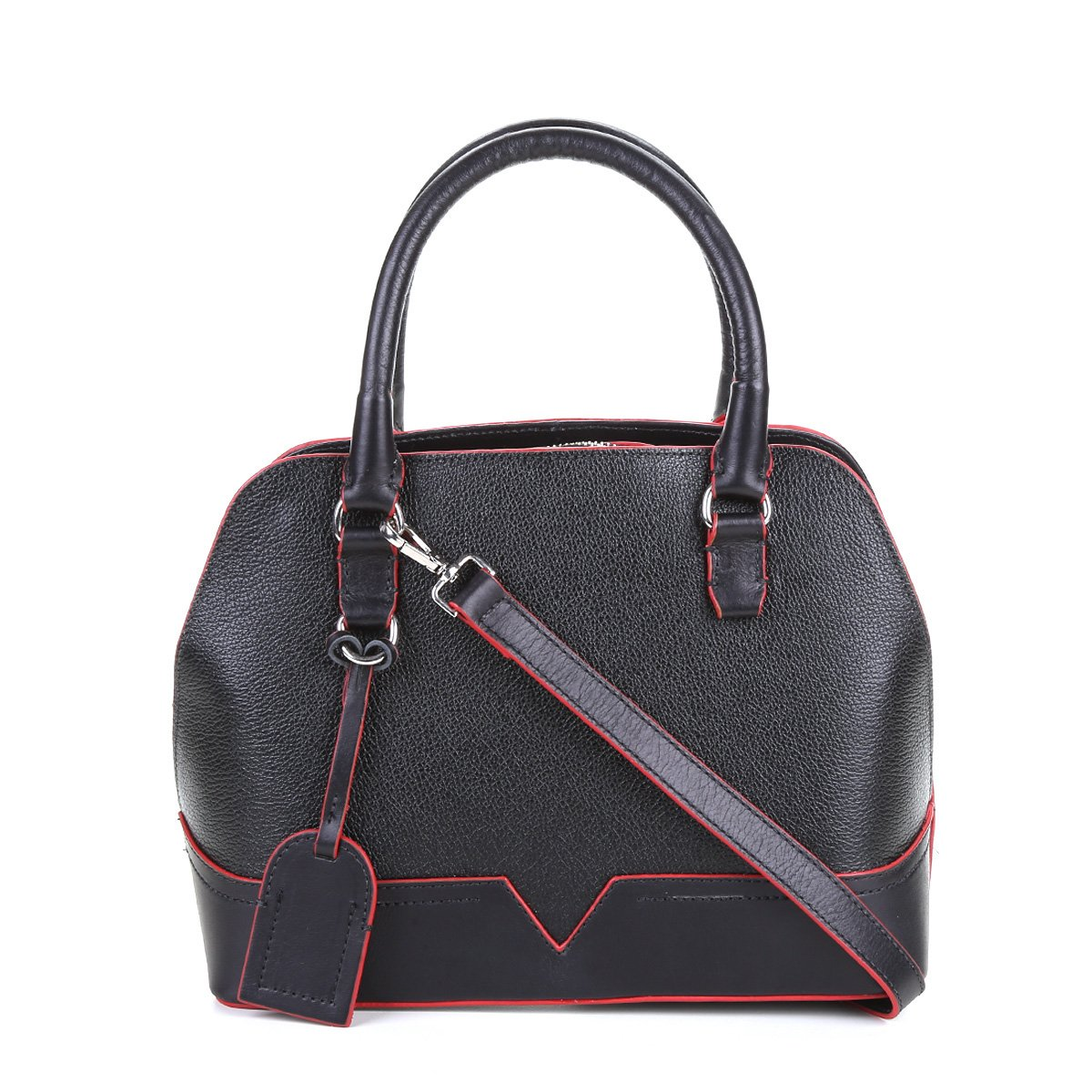 f18964cabb Bolsa Couro Shoestock Handbag Clássica Feminina - Compre Agora ...