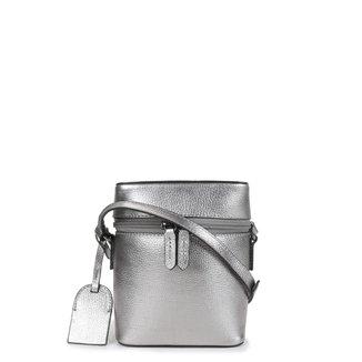 Bolsa Couro Shoestock Mini Basic Transversal Feminina