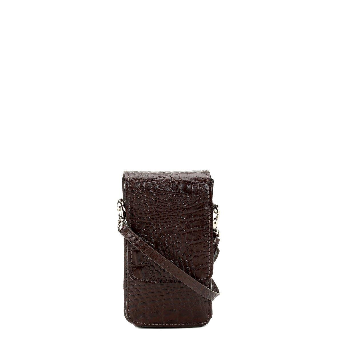 76e4b973c Bolsa Couro Shoestock Porta Celular E Cartão Feminina | Shoestock