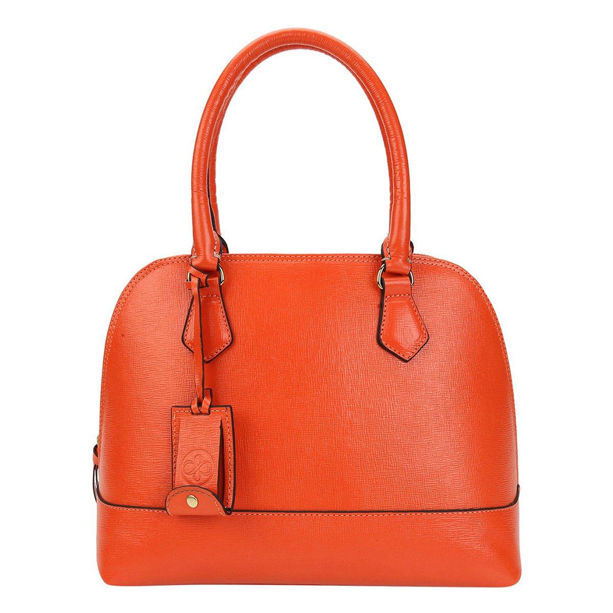 94d50c49a5045 Bolsa Couro Shoestock Satchel Alça Dupla Feminina - Compre Agora ...