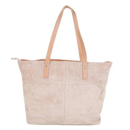 Bolsa Couro Shoestock Soft Shopper Feminina