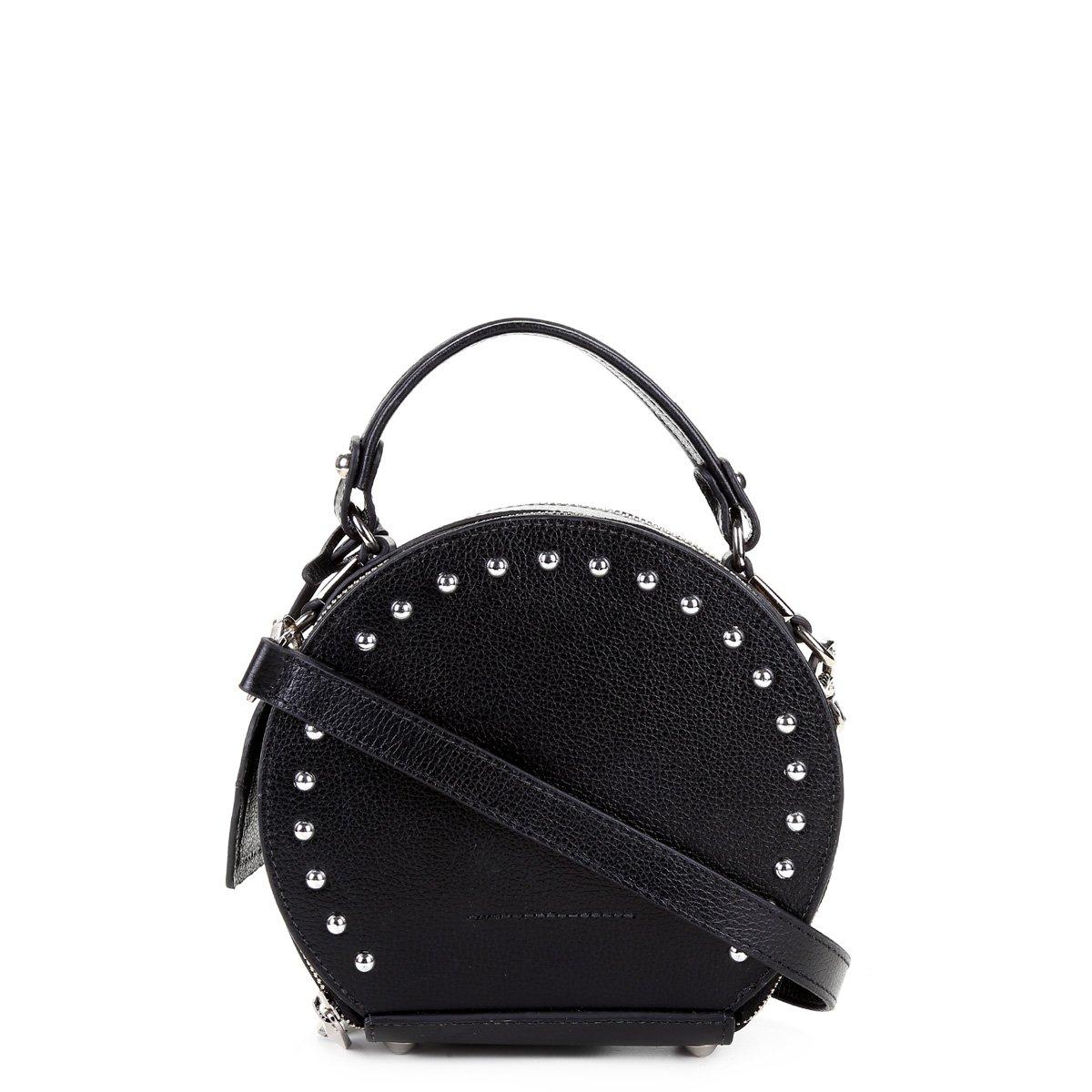 cedd0d8ef Bolsa Couro Shoestock Tiracolo Spikes Feminina | Shoestock