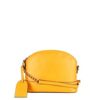 Bolsa Couro Shoestock Transversal Meia Lua Feminina