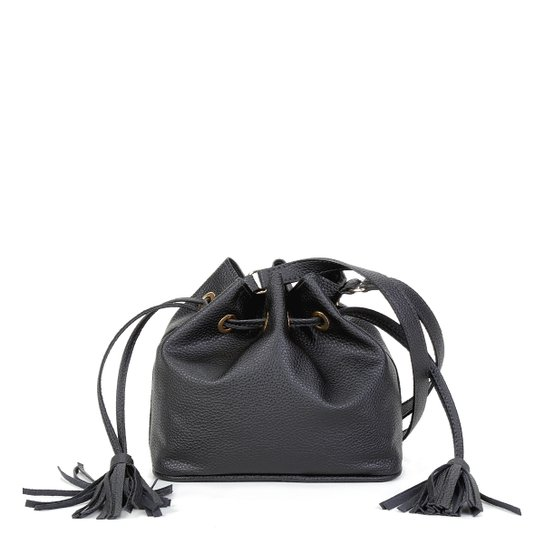 Bolsa Shoestock Bucket Lisa Feminina - Preto