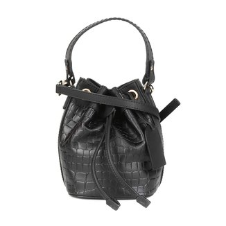Bolsa Shoestock Bucket Mini Croco Feminina