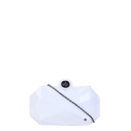 Bolsa Shoestock Clutch Feminina - Branco