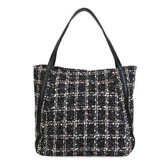 Bolsa Shoestock Maxi Shopping Tweed Feminina