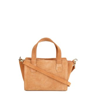 Bolsa Shoestock Mini Bag Tiracolo Camurça Feminina