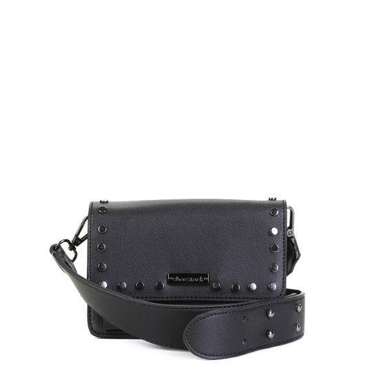 Bolsa Shoestock Mini Bag Tiracolo Tachas Feminina - Preto
