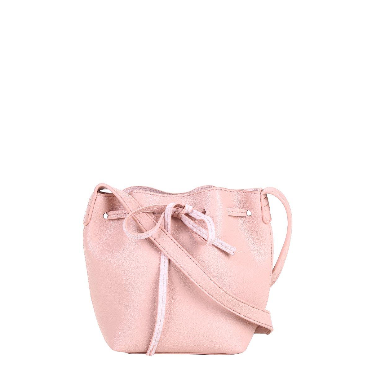 Bolsa Shoestock Mini Bucket Candy Feminina - Rosa. até 1x de R  69 bc28ad45d60