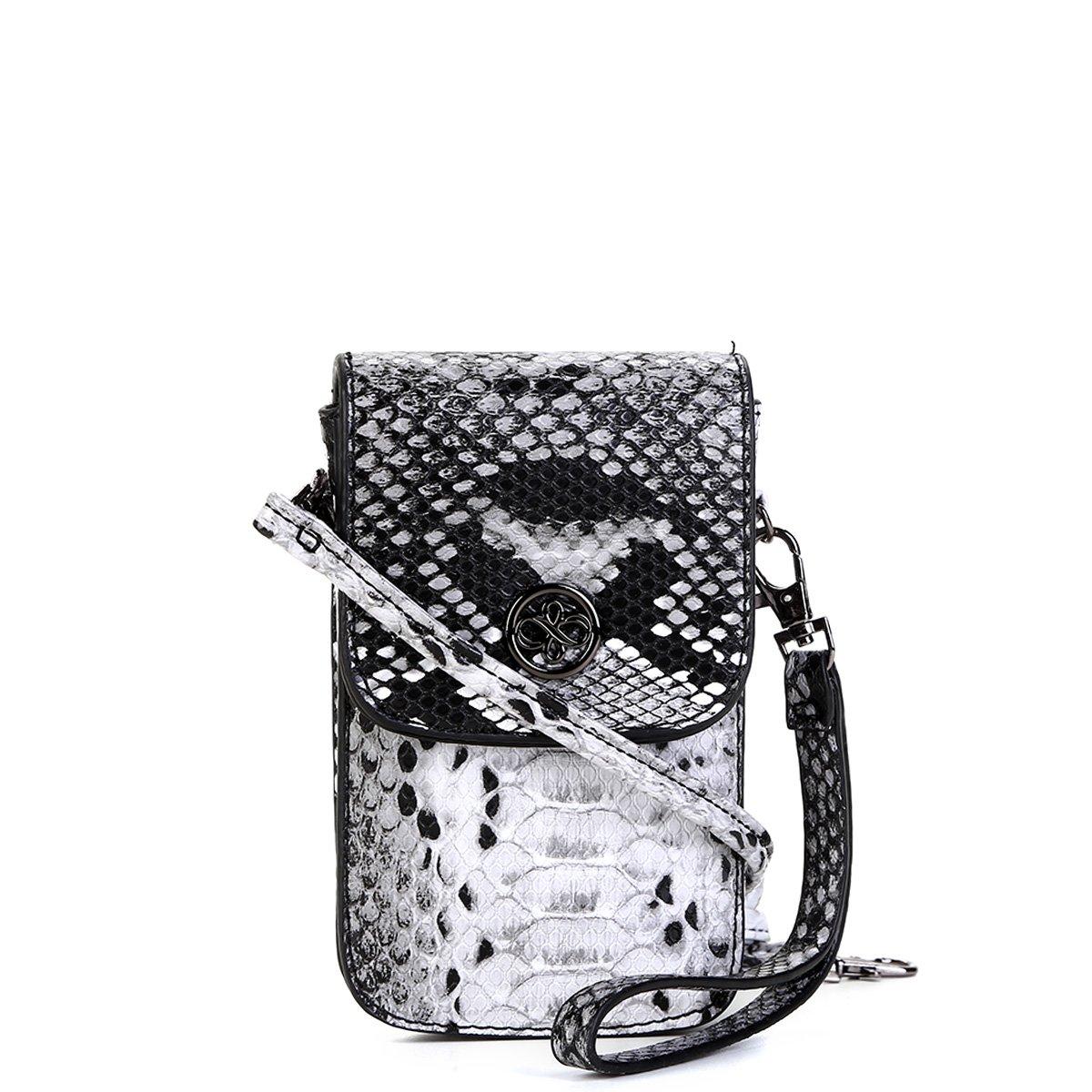 e7fe92ff3 Bolsa Shoestock porta Celular Transversal Snake Feminina | Shoestock