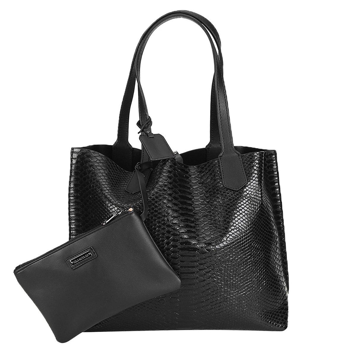 001038ef8 Bolsa Shoestock Shopper Dupla Face Snake Feminina - Compre Agora ...