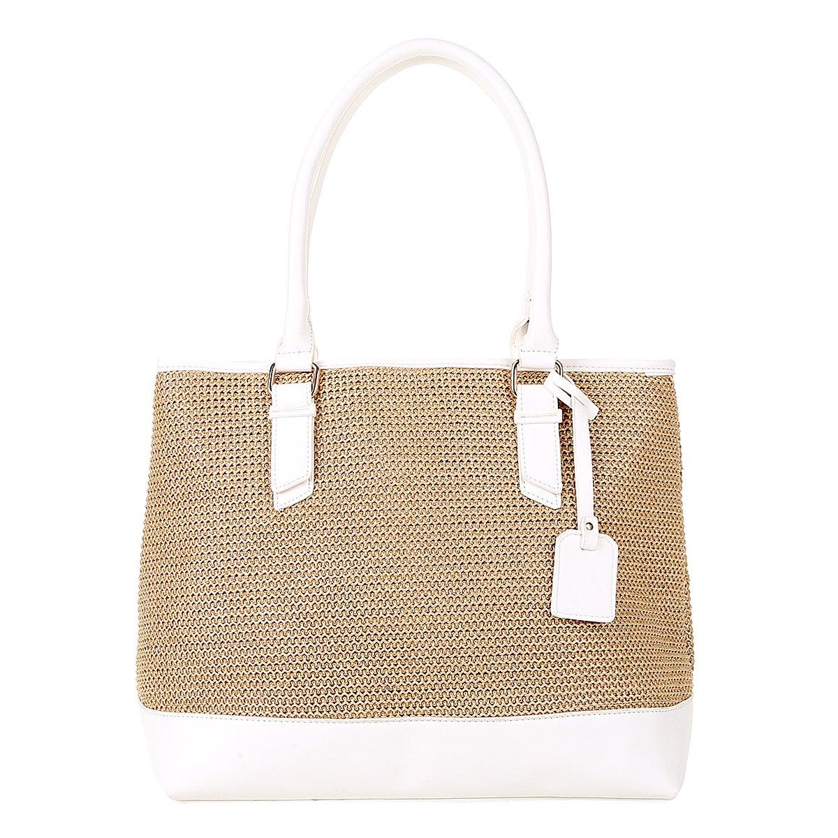 ca2298bb7 Bolsa Shoestock Shopper Palha Feminina - Compre Agora