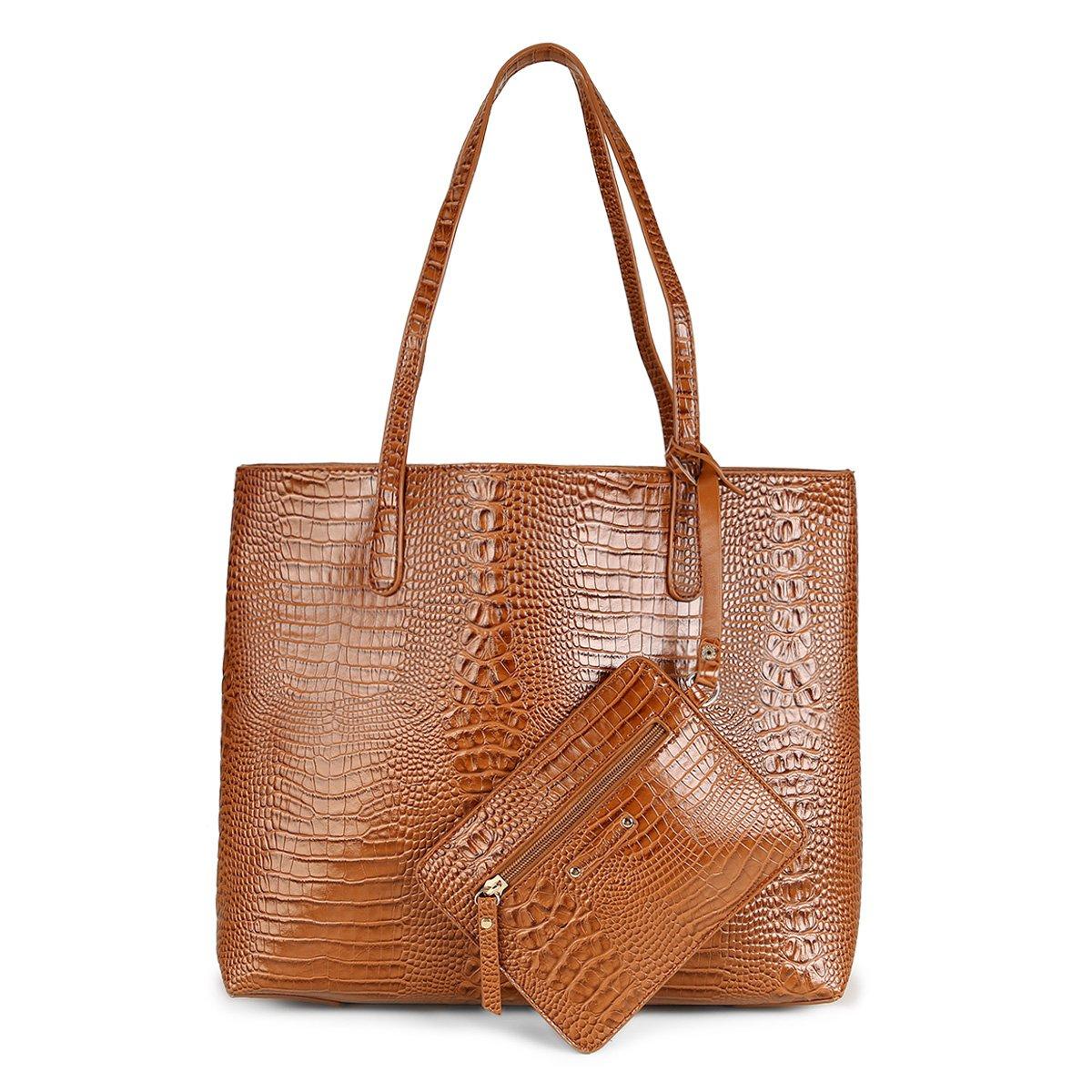 aa5b575e40ff6 Bolsa Shoestock Tote Mari com Necessaire Feminina - Compre Agora ...