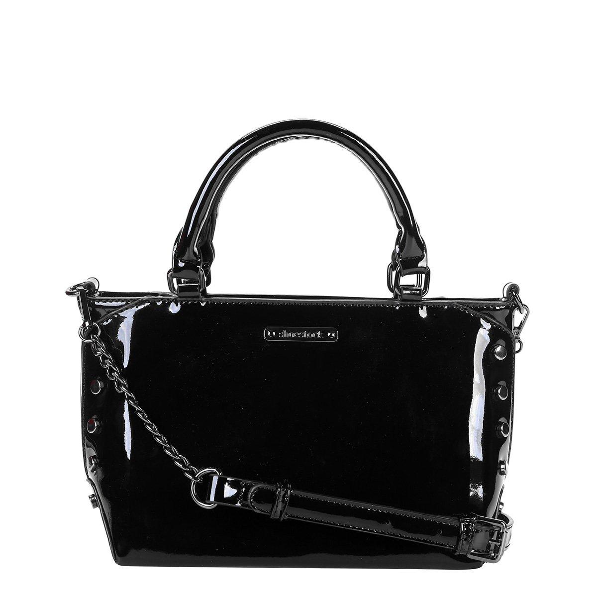1732883390 Bolsa Shoestock Tote Tiracolo Verniz Média Feminina - Compre Agora ...