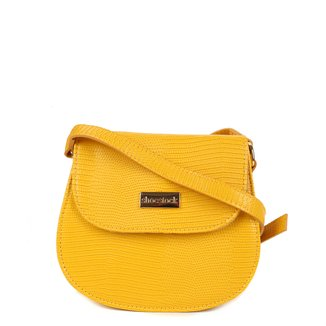 Bolsa Shoestock Transversal Lezard Mini Bag Feminina