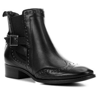 Bota Chelsea Shoestock Metal Feminina