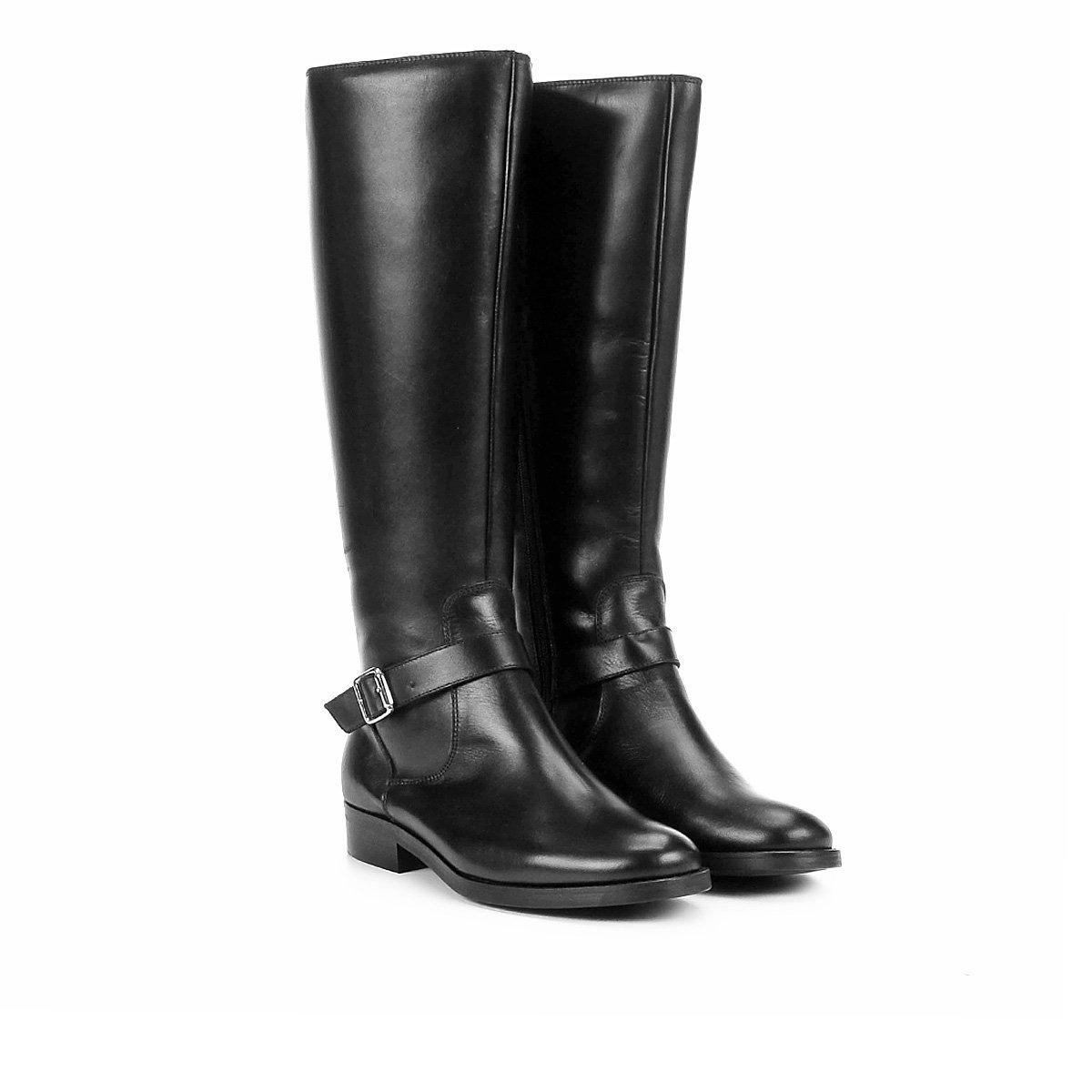 564650b86 Bota Couro Cano Curto Shoestock Montaria Feminina - Compre Agora ...