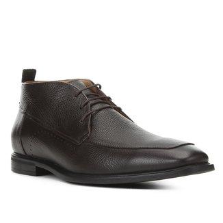 Bota Couro Shoestock Social Comfort Masculina