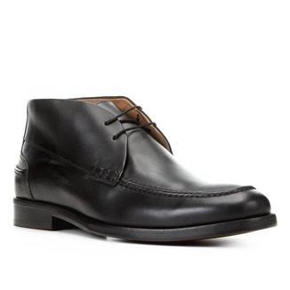 Bota Couro Shoestock Social Masculina
