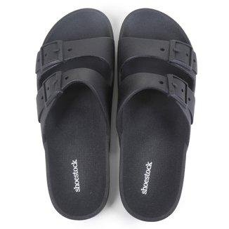 Chinelo Shoestock Color Fivelas Masculino
