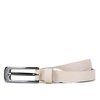 Cinto Couro Shoestock Fino Feminino