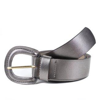 Cinto Couro Shoestock Médio Feminino