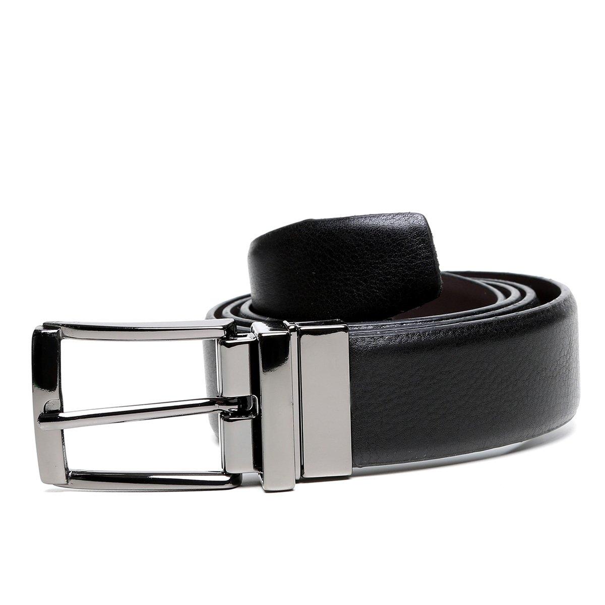 ff29d34c0f Cinto Couro Shoestock Social Reversível Masculino - Compre Agora ...