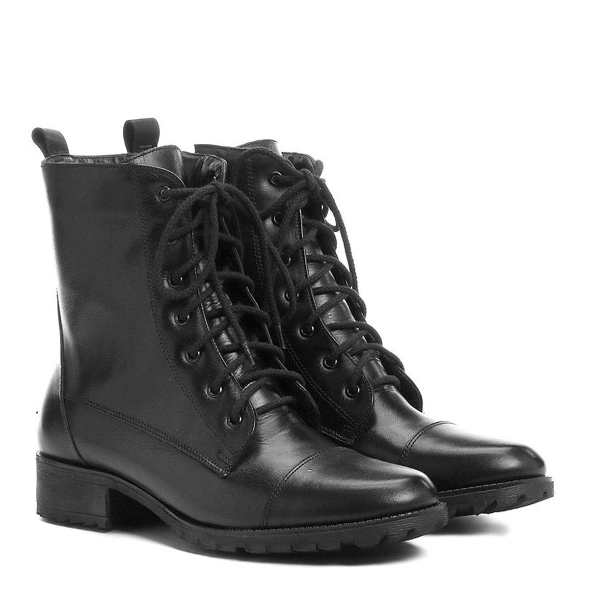4cfe2b2ec8703 Coturno Shoestock Cadarço  Coturno Shoestock Cadarço ...