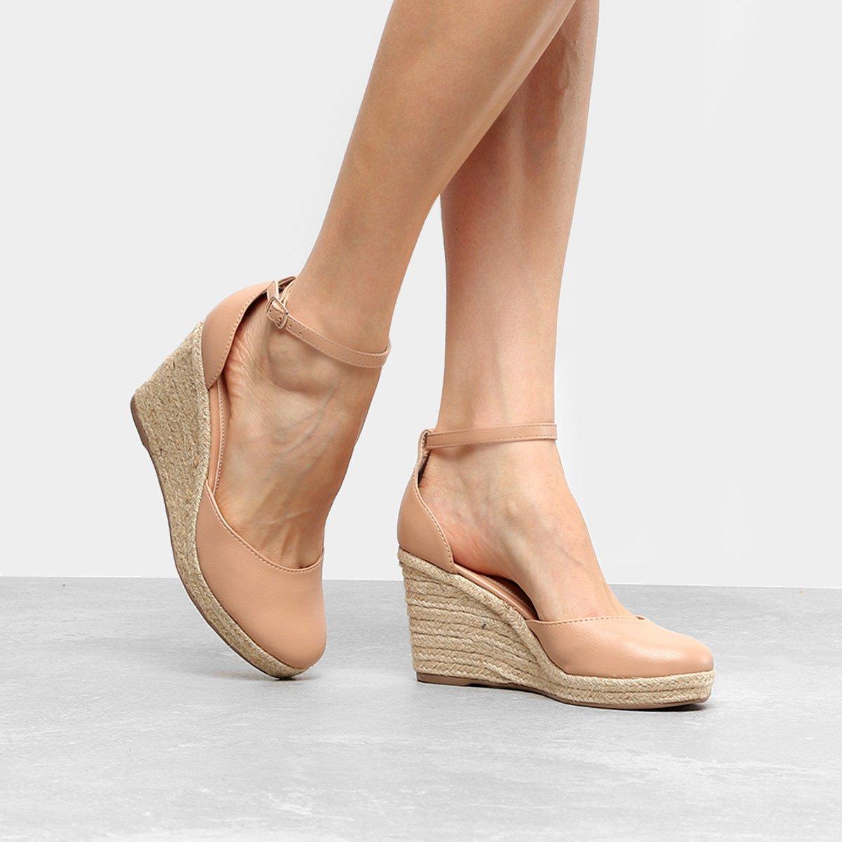 8f2901688 Espadrille Anabela Shoestock Plataforma Fechada Feminina | Shoestock